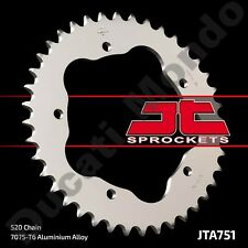 Rear sprocket 43 tooth JT alloy 520 Ducati 748 Monster S2R 800 & 520 conversion