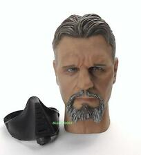 1/6 Scale Head Sculpt + Mask From HPC Toys True Master Deluxe Set Ra's Al Ghul