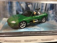 JAGUAR XKR FROM DIE ANOTHER DAY FILM   1/43  model James Bond 007 Collection