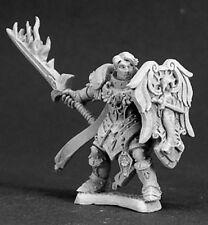 Reaper Miniatures Almaran the Gold, Paladin w/ Flaming Sword #03292 Dark Heaven