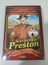 Il Sergente Preston Serie TV Completa - 5 X DVD Spagnolo English - Am