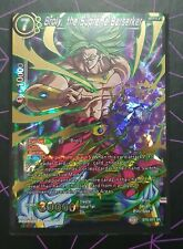 Dragon Ball Super CCG / Broly The Supreme Berserker BT6-074 SR Super Rare
