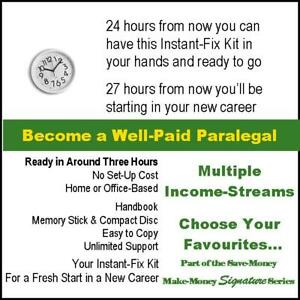 Work From Home. New Career. Become a Well-Paid Paralegal. Easy, Instant Start