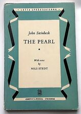 John Steinbeck - THE PEARL - rare English edition, SWEDEN 1956