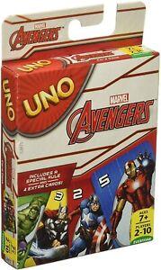 Marvel Avengers UNO Card Game Brand new sealed package Mattel Games *UK Seller*