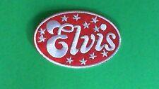 Lot of 3 Elvis Presley Iron On Patches! New USA Seller Graceland Memphis