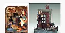 figurine Lara Croft TOMB RAIDER ferocious doberman 18 cm - EIDOS