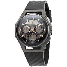 Bulova Curv Cronógrafo Dial Gris Oscuro Hombre Reloj 98A162