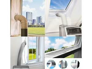 DMS® Hot Air Stop Klimaanlage Auslass Fensterabdichtung Kit Mobile Klimageräte