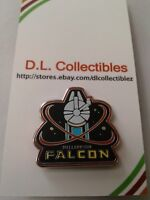 Disney Star Wars The Force Awaken booster set Millennium Falcon Pin