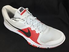 509683297642b Nike Flex Control Mens 898459-006 Gray Red Cross Training Shoes Size US 12