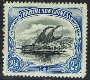 PAPUA 1901 LAKATOI BRITISH NEW GUINEA 21/2D VERTICAL WMK