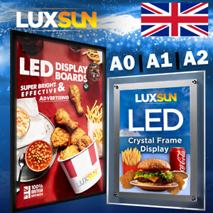 LED Illuminated Menu Display Board   Shop Takeaway Sign   A1 A2 A0   Media Print