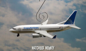 Copa Airlines Boeing 737 Airplane Jet Custom Christmas Ornament Adorno Plane