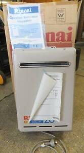 Rinnai Solar 26 Natural Gas Hot Water System New