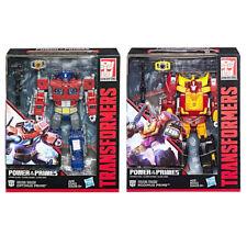100% Hasbro Transformers Power Of The Primes Leader W1 Optimus Rodimus Prime Set