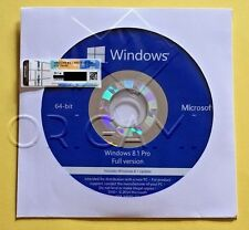 ~Microsoft Windows 8.1 Pro 64 bit Full Version & Harddrive~