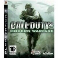 PS3 -Call of Duty 4 (COD) Modern Warfare **New & Sealed** Official UK Stock