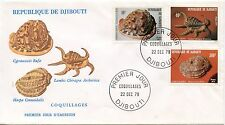 FIRST DAY COVER / PREMIER JOUR DJIBOUTI / COQUILLAGES 1979