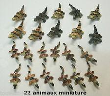lot de 22 crocodiles pour vitrine, crèche, collection, maison de poupée  G-lot2