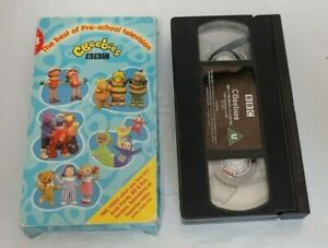 CBEEBIES The best of Pre-school Television BBC VHS Video Tape Vintage Children's