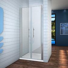 a2 85cm duschabtrennung nischentr doppel pendeltr duschtr 6mm nanoglas p640 - Dusche Nischentur 85 Cm