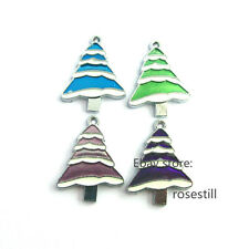 5pieces Christmas Tree Hang Pendant Charms DIY Necklace/Pet Collar /Phone Strip