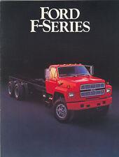 1985 Ford F-Series Truck Brochure F - FT 600/8000+++