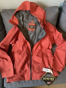Burton 2L Pack-rite Jacket Gore-Tex Mens XL Color Hot Sauce (Red)