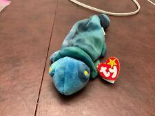 Ty Beanie Babies Pellets Pe Rainbow Lizard A