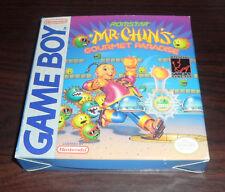 Nintendo Game Boy. Mr Chin's Gourment Paradise CIB + Poster + Registration Card