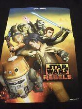 Star Wars Rebels Disney Weekend 2014 Black T Shirt Boys NWT two sided T Shirt