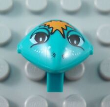LEGO Dark Turquoise Alien Minifig Head with Freckles