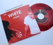 "THE WHITE STRIPES LET'S SHAKE HANDS 7"" RED SWIRL VINYL THIRD MAN JACK N.MINT"