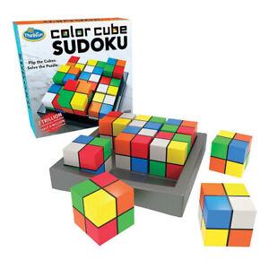 Thinkfun Color Colour Cube Sudoku Board Game NEW