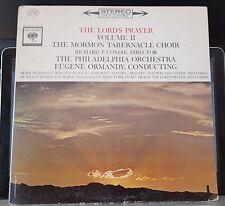 The Lord's Prayer, Volume 2 II, Mormon Tabernacle, Ormandy - LP record monaural