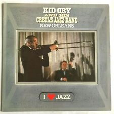 KID ORY and his CREOLE JAZZ BAND - NEW ORLEANS- 1983 Vinyl LP / NM/VG+