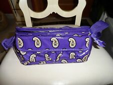 Vera Bradley insulated mini lunch cooler in Simply Violet NWOT