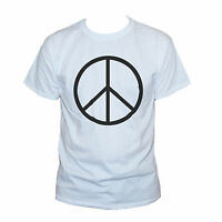 PEACE T SHIRT Hippie Festival Retro Graphic Printed Tee S M L XL XXL Men/Women