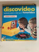 HARBERT DISCOVIDEO HANSEL GRETEL 1970s WALT DISNEY PER FONOVIDEO