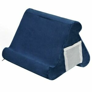 Tablet Stand Pillow Holder,Multi-Angle Soft Cushion Lap Stand For IPads Tablets