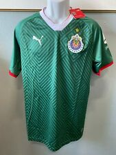 chivas green jersey 100% puma brand authentic