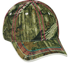 Ladies/Womens Mossy Oak Break Up Infiinity Camo Deer Hunting Cap/Hat 101LDS-BUIN