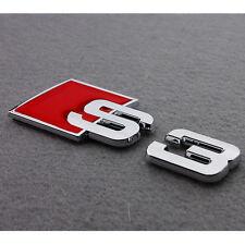 3D Aluminium Alliage De Chrome S3 S LINE voiture Queue autocollant emblème insigne Pour Audi A3 S54