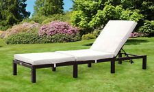 More details for rattan day bed sun lounger recliner chair garden furniture patio terrace