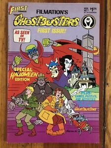 Filmation's Ghostbusters #1 (1986 FIRST Comics) Adaptation of 80's Cartoon FINE