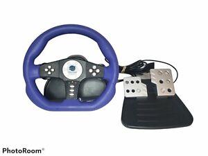 Pelican Sony Playstation 2 Cobra TT Racing Steering Wheel Controller PS2