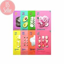 Holika Korean Face Mask - Pure Essence Variety Pack - 8 types - shipped from US