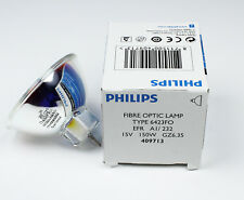PHILIPS FIBER Optic lamp type 6423FO EFR A1/232 15V150W  GZ6.35 light