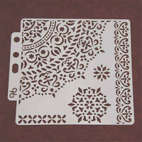Layering Stencils Template Stamp Embossing DIY Painting Scrapbooking Decorative